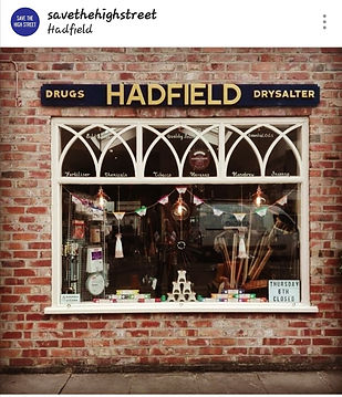 save the high street featured Hadfield of Macclesfield