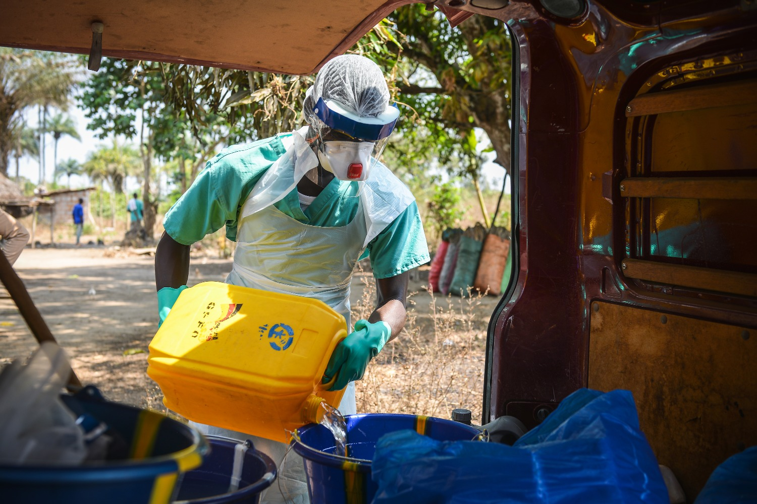 Promoting global response to Ebola