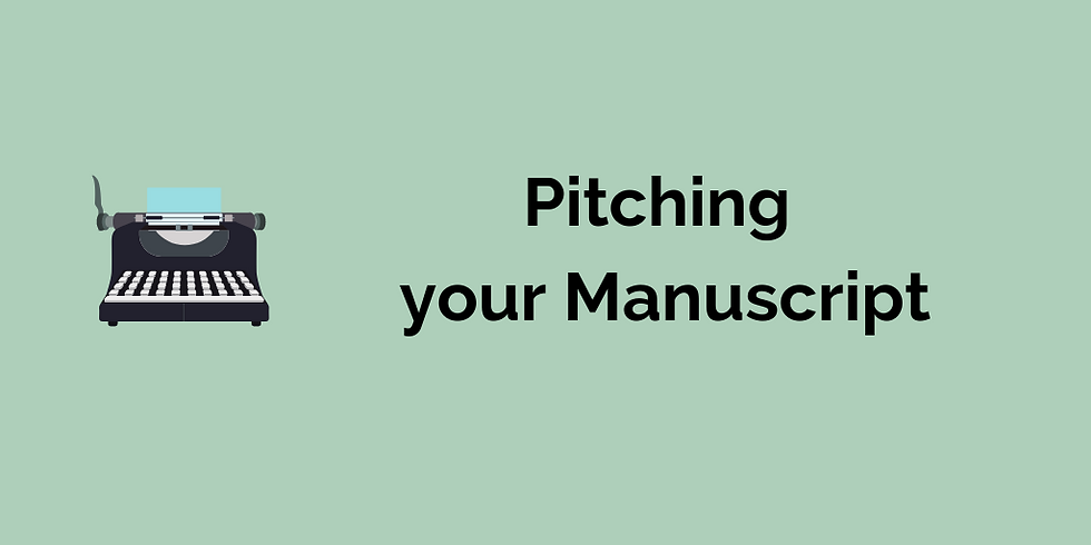 Pitching your Manuscript