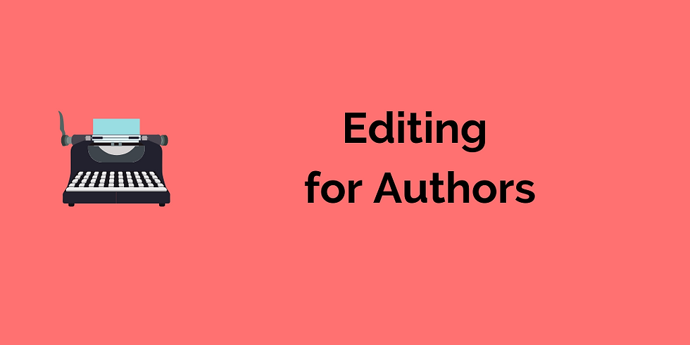 Editing for Authors