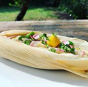 Ceviche de pescado 🐠 #ceviche #mango #f