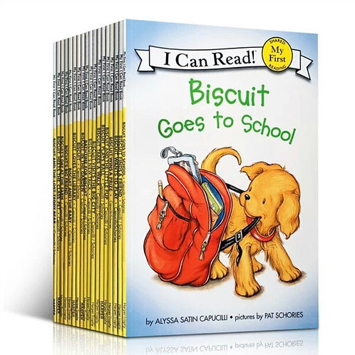 22 Books/Set Biscuit Series Picture Books I Can Read Books