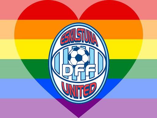Gå med United i Pridetåget