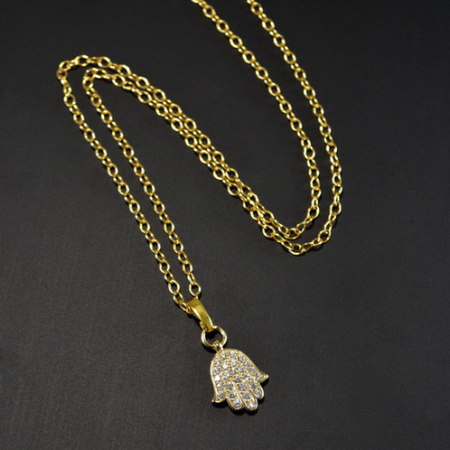 image pendant hamsa largesolidhamsa yg diamond gold yellow large