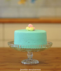 FREE Speckled Cake Tutorial!