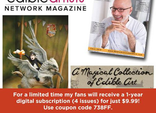 Featured in Edible Artists Network Magazine!