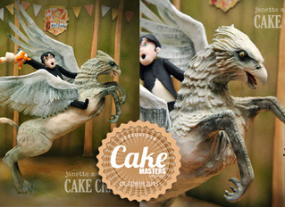 Buckbeak Cake Featured in Cake Masters Magazine