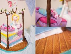 Princess & the Pea Cake