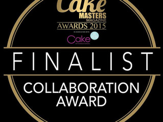 Finalist in Cake Masters Collaboration Award!