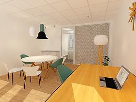 Réorganisation d'un plateau de bureaux