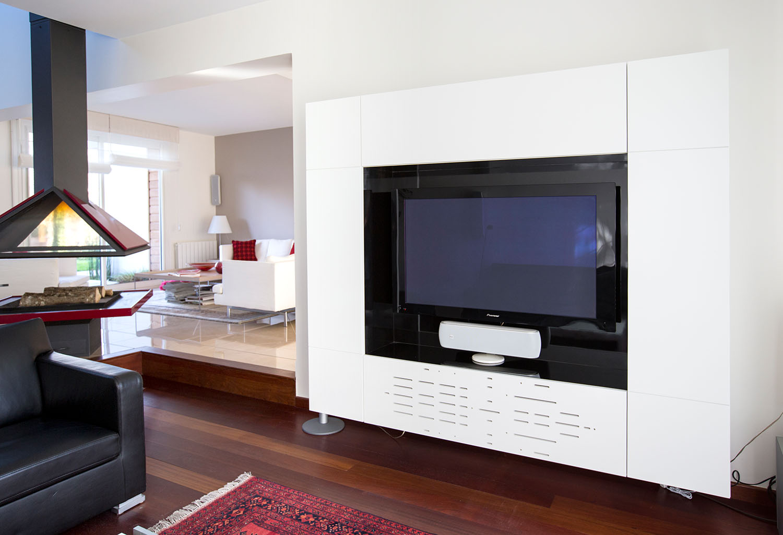 Maison H - meuble TV