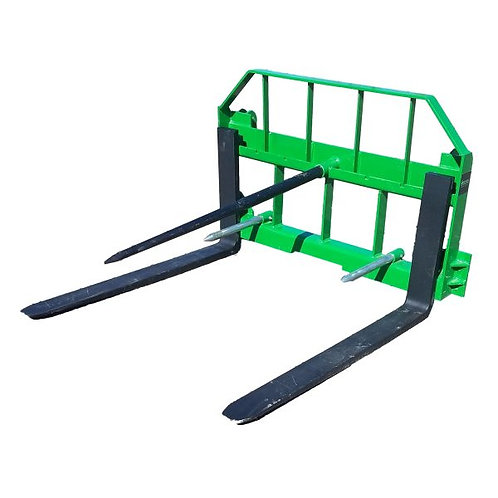 """JOHN DEERE COMBO- HAY SPEAR AND 42"""" FORKS"""