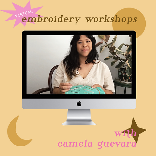 Virtual Embroidery Workshop