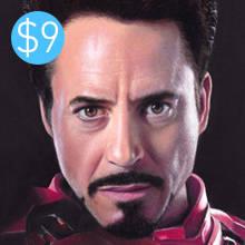 Human Portrait - T Stark