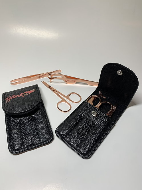 Rose Gold - Premium Lash Tool Set | Lash like a Pro | 3 piece precision set