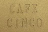 CAFE CINCO חום בהיר קפה לאובניים