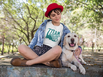 girl-at-a-park-with-her-dog-wearing-a-ts