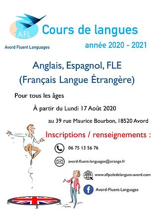 Affiche stage d'été 2020 - 2021-1.png