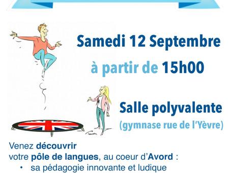 Forum des Associations à Avord - 12 Septembre 2020