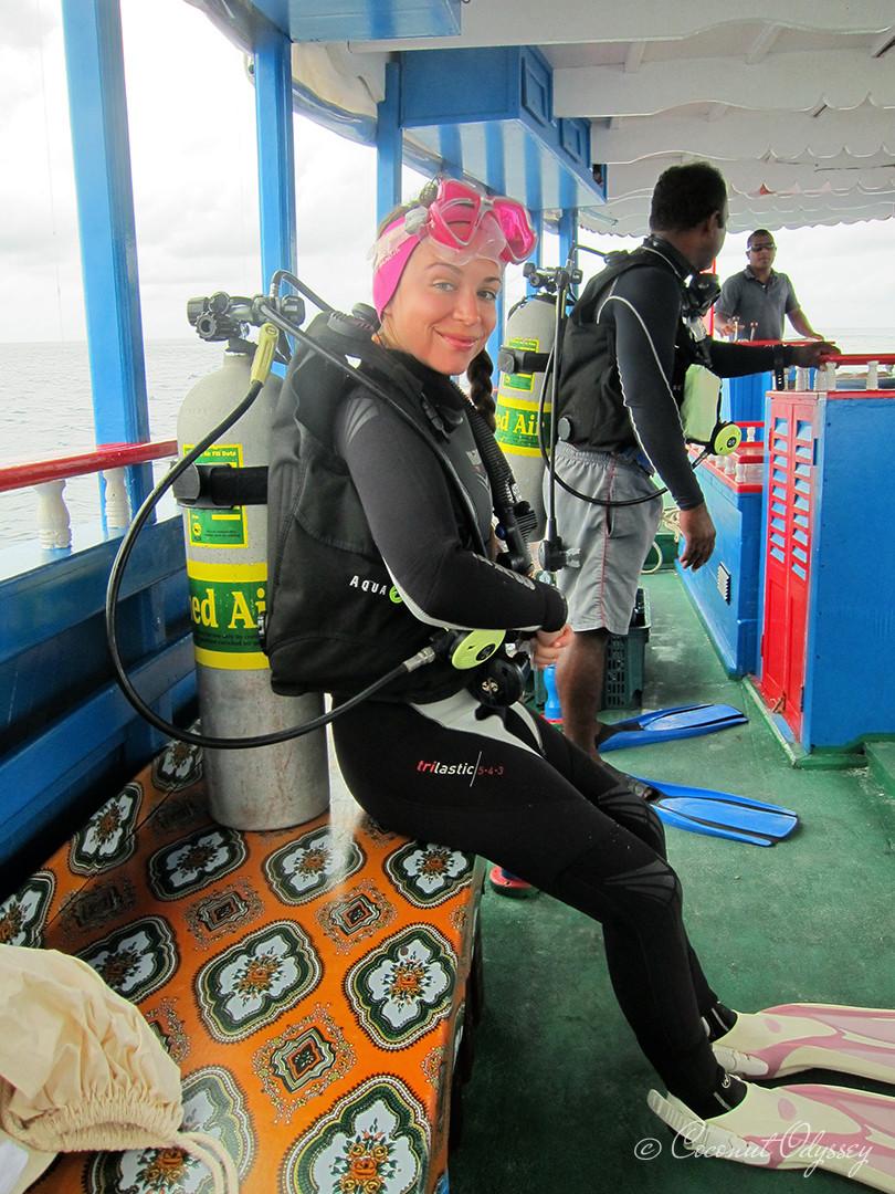 Scuba Diver, Maldives,