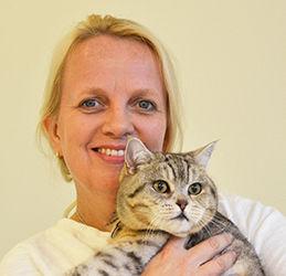 Eläinlääkäri Inka Falck