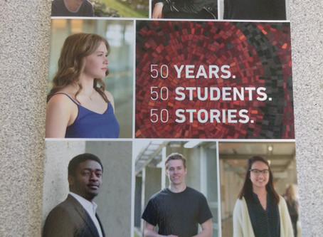 50 years, 50 students, 50 stories