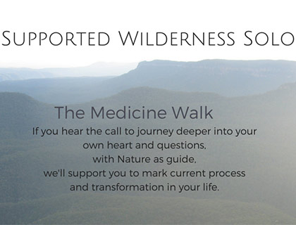 supported-wilderness-medicine-walk-nature-guide