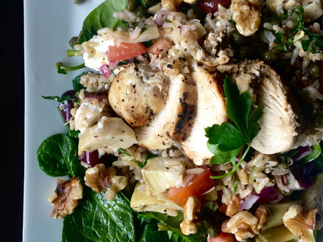 Mediterranean Powerhouse Salad