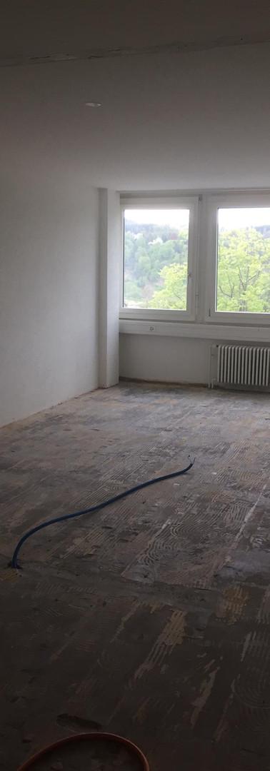 réfection des sols salles de consultation