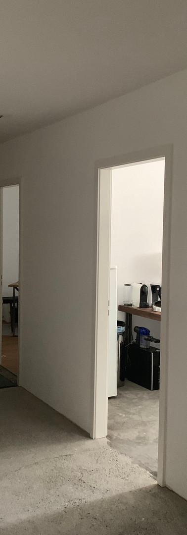 Accès provisoire aux nouvelles salles