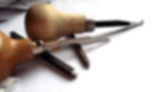Kultasepän työkaluja