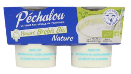 Yaourt Brebis Nature Bio