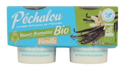 Yaourt aromatisé Vanille Bio