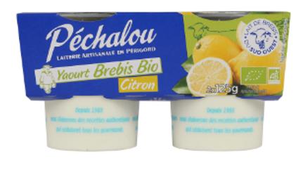 Yaourt Brebis Citron