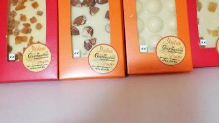 Tablette Chocolat Blanc 35 % Gingembre