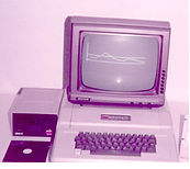 Musculatron with apple computer
