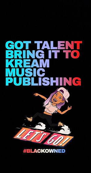 KREAM MUSIC PUBLISHING