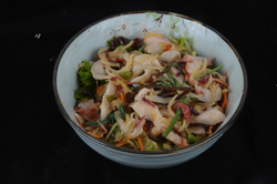Salade poulpe gingembre