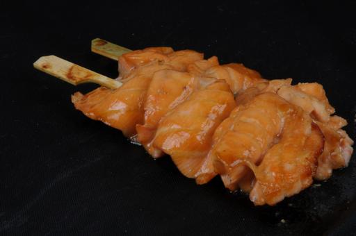 Yakitori saumon