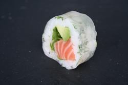 Rice roll saumon avocat