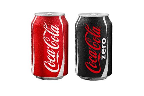 Coca cola / coca cola zero