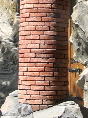 Brick Round Column Detail