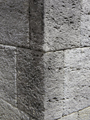 Limestone Texture Veneer Stone Corner
