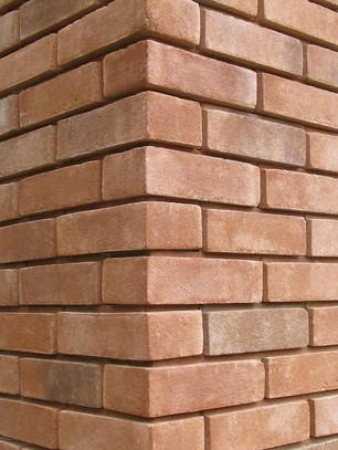 Brick Veneer Stone Corner