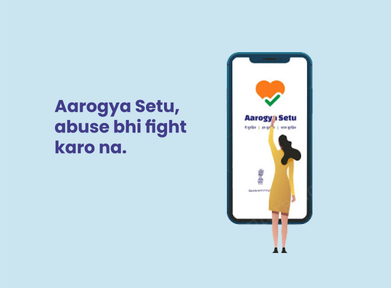 Intervention in Aarogya Setu app