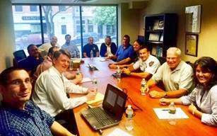 VOM Community Micro-grid Team Meets with Essential Services Reps