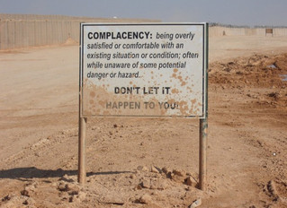 Complacency Kills