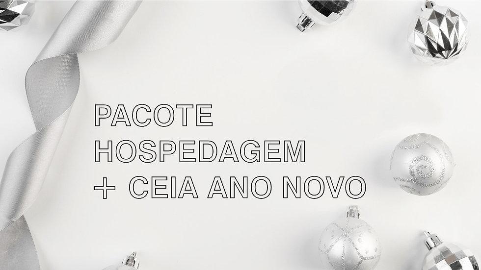 Pacote Ano Novo (Hospedagem + Ceia) • A partir de