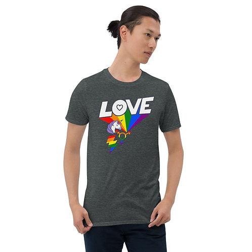 LGBTQ LEVEL UP Short-Sleeve Unisex T-Shirt