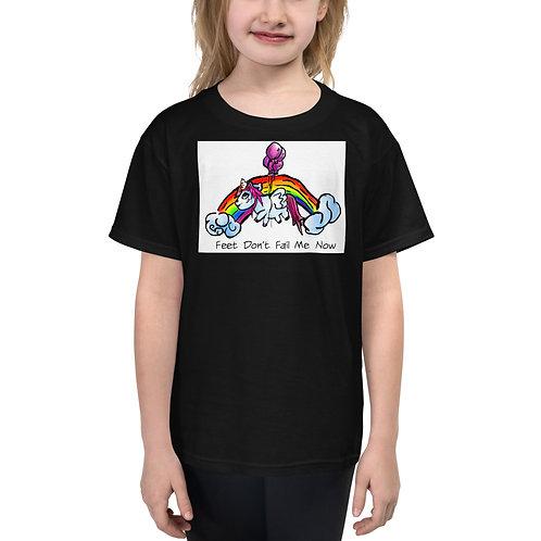 Unicorn Feet Youth Short Sleeve T-Shirt